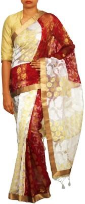 Unnati Silks Embellished Daily Wear Net Sari
