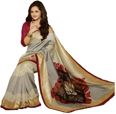 Akshata Printed Bhagalpuri Art Silk Sari