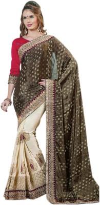360bazaar Self Design Fashion Silk Sari
