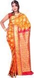 JCN Self Design Mysore Art Silk Saree (G...
