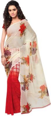 Kashvi Sarees Printed Daily Wear Synthetic Georgette Sari