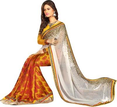 Manshvi Fashion Embriodered Daily Wear Jacquard Sari