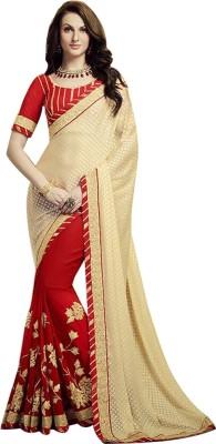 Shop Avenue Embriodered Fashion Pure Georgette Sari