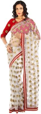 Vandanaraj Polka Print Fashion Net Sari