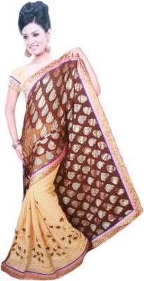 Suvida Embellished, Embriodered Bollywood Georgette Sari