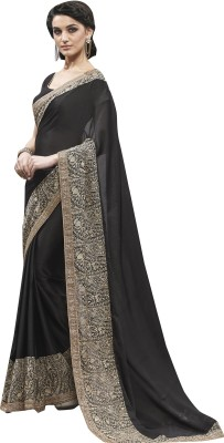 Ekjhalak Embriodered Fashion Chiffon, Georgette Sari