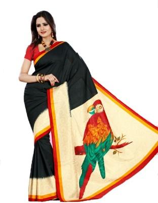 Kunal Printed Bollywood Art Silk Sari