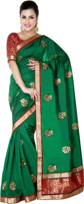 Studio Shringaar Embriodered Fashion Polyester Sari