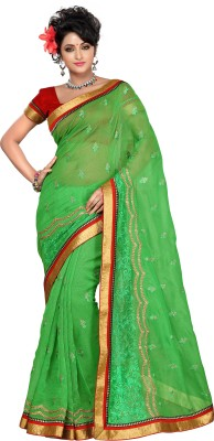 FNF Striped Fashion Cotton Sari