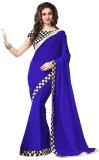 Ninecolours Solid Daily Wear Georgette S...