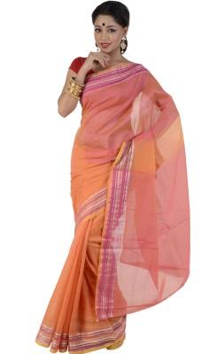 B3Fashion Solid Rajkot Net Sari