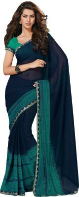Charu Boutique Embellished Daily Wear Chiffon Sari