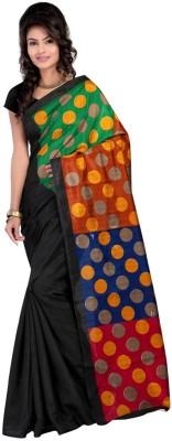 Click Self Design Bollywood Art Silk Sari