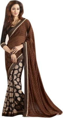Lajo Solid Bollywood Chiffon Sari