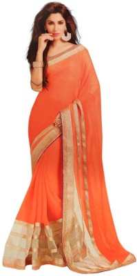JK Creation Embriodered Fashion Chiffon Sari