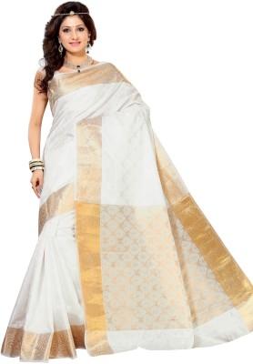 Alankrita Self Design, Woven Kanjivaram Silk, Art Silk, Jacquard, Brasso Sari