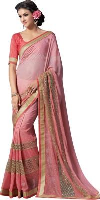Brijraj Embellished Fashion Georgette Sari