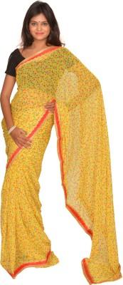 Jagadamba Printed Fashion Georgette Sari
