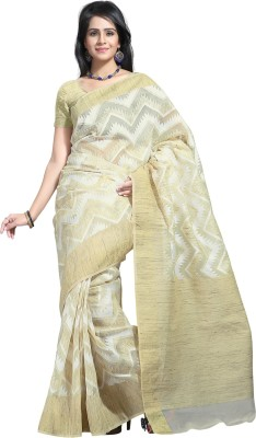 Tagbury Solid Fashion Cotton Sari