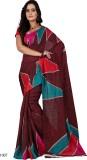 Sanju Sarees Printed Bollywood Jacquard ...