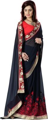 Limozine Creation Embriodered Fashion Georgette Sari