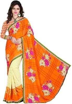 Gopika Creation Printed Daily Wear Georgette Sari
