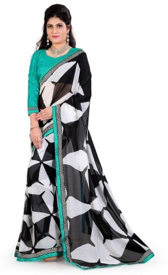 Meghalya Printed Fashion Georgette Sari