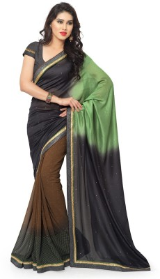 shasa Printed Daily Wear Georgette Sari