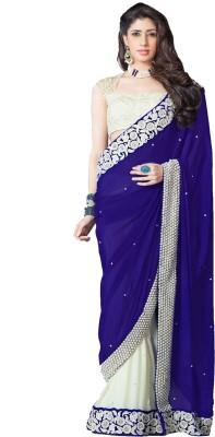 Greenvilla Designs Embriodered Fashion Jute Sari