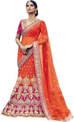 Trisha designs Embellished Bollywood Silk Sari