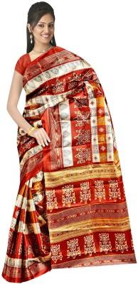 Fashion Factory Printed Daily Wear Art Silk Sari
