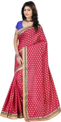 Indi Wardrobe Embriodered Banarasi Viscose Sari