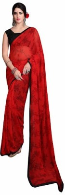 azhaginazhage Self Design Fashion Pure Chiffon Sari