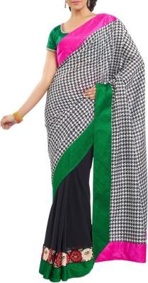 Estri Self Design Fashion Georgette Sari