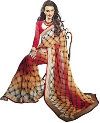 Trendz Printed Fashion Georgette Sari