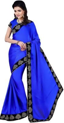 edeal online Embriodered Fashion Silk Sari
