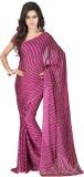 Vogue Era Printed Bandhani Crepe Saree (...