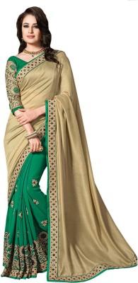 Amayra Fashions Printed, Embellished, Embriodered Fashion Georgette Sari