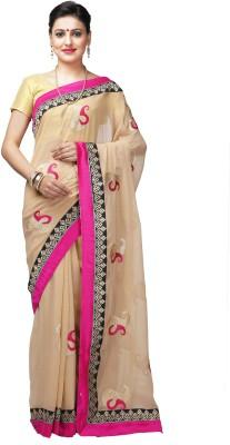 Shloka Woven Banarasi Handloom Synthetic Chiffon Sari