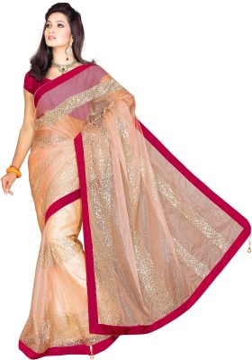 Raj Embriodered Bollywood Net Sari