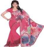 Saloni Printed Fashion Synthetic Saree (...