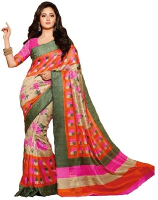 Increadibleindianwear Self Design Bhagalpuri Silk Sari