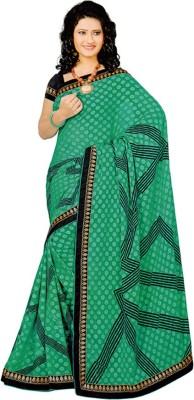 Vardhini Printed Fashion Georgette Sari
