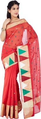 Kuberan Solid Daily Wear Cotton Sari