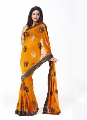SUNDARIGARMENTS33 Embriodered Bollywood Art Silk Sari
