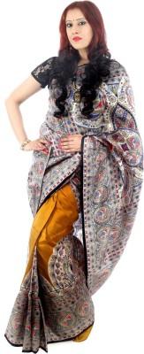 Fashion Mix Printed Murshidabad Pure Silk Sari