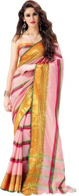 Hitansh Fashion Printed Fashion Silk Sari
