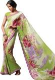 Laxmipati Printed Bollywood Pure Georget...