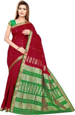 Mrsaree Solid Fashion Banarasi Silk Sari