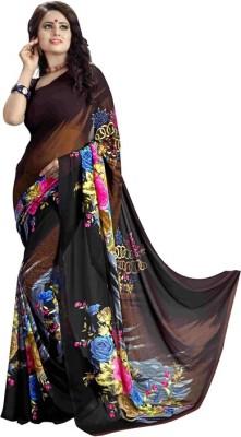 Vivera Fashion Printed Bollywood Georgette Sari